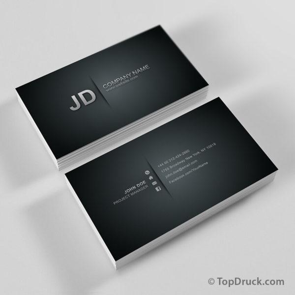 Pattern Corporate Visitenkarten Design