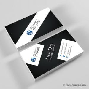 Web-Developer Visitenkarten Design