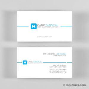 Care Medical Visitenkarten Design