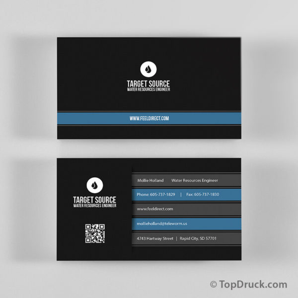 Resources Engineer Visitenkarten Design