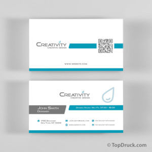 Creativity Visitenkarten Design