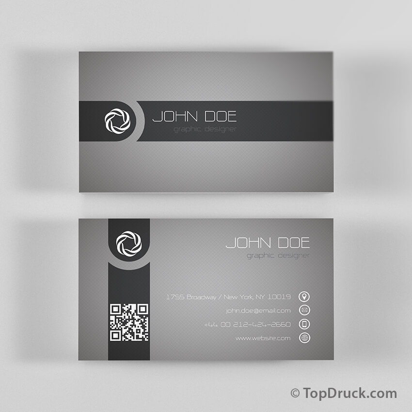 Graphic Designer Visitenkarten Design Topdruck