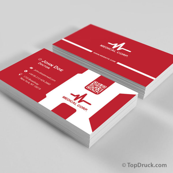 Medical Corporate Visitenkarten Design