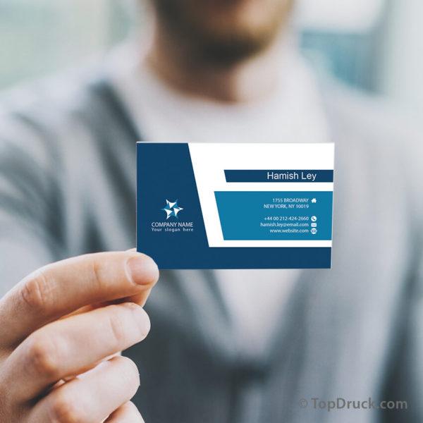 Clear Corporate Visitenkarten Design