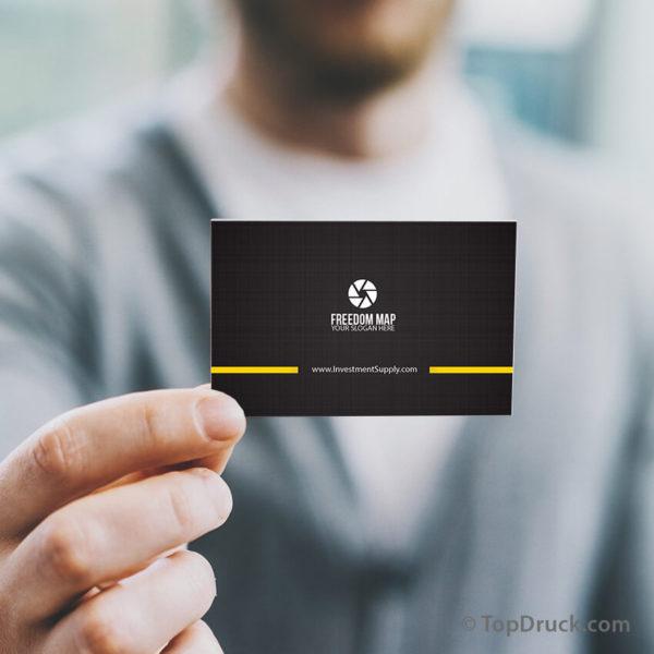 Camera Operator Visitenkarten Design