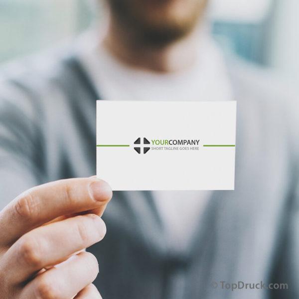 Clean Professional Visitenkarten Design
