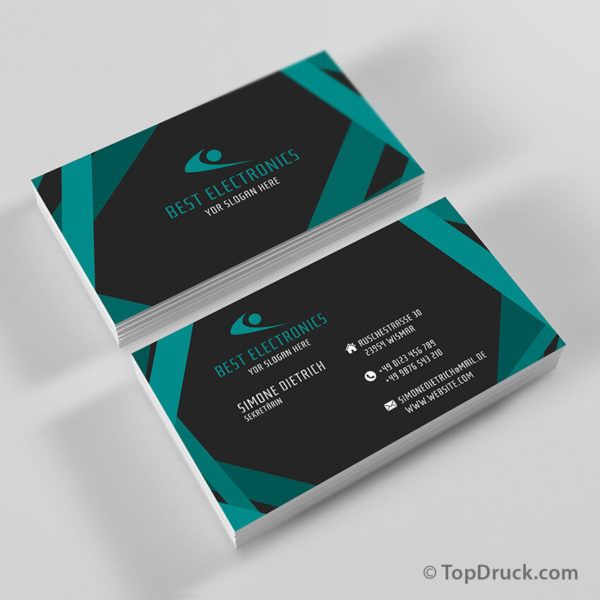 Sekretärin Visitenkarten Design