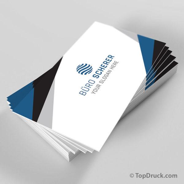 Bürokaufmann Visitenkarten Design