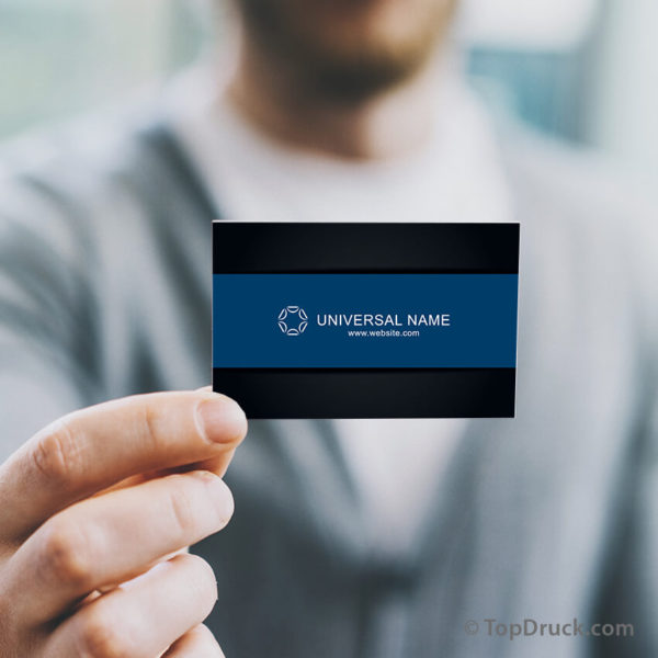Universal Visitenkarten Design