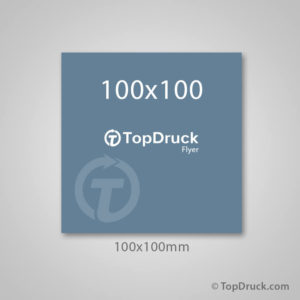 Quadrat 100x100mm
