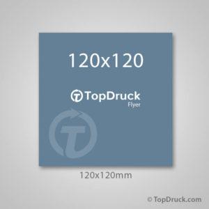 Quadrat 120x120mm