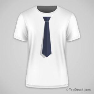 T-Shirt Krawatte Design