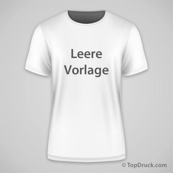 T Shirt Leere Vorlage Topdruck
