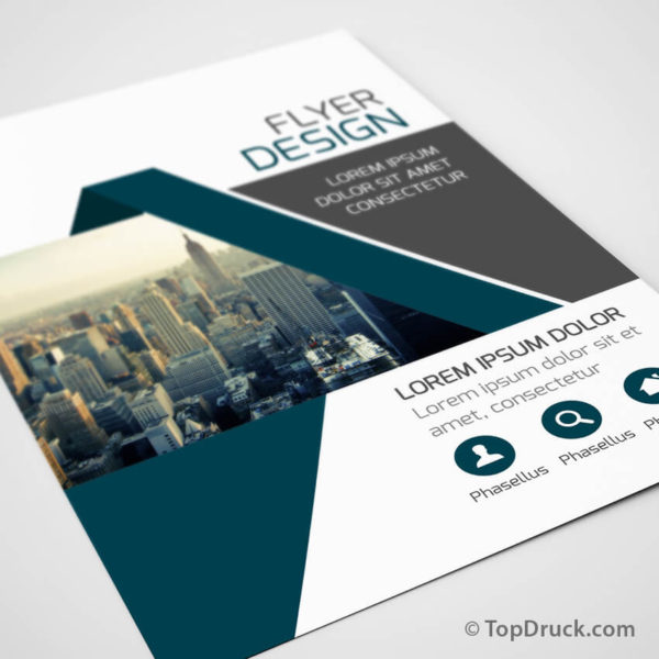 Big City Flyer Design drucken
