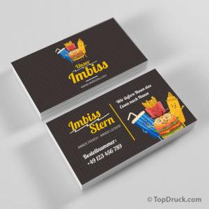 Imbiss Visitenkarte