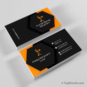 Kurierdienst Visitenkarte
